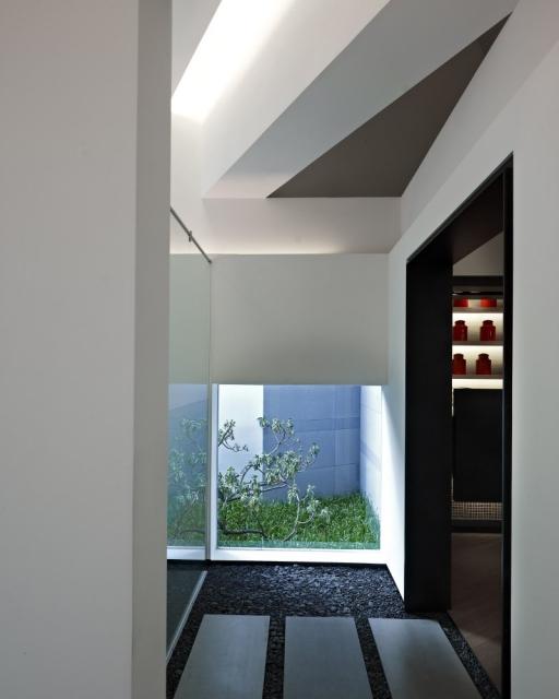 """建筑设计:台湾台北市的房屋销售中心""""传承"""""""