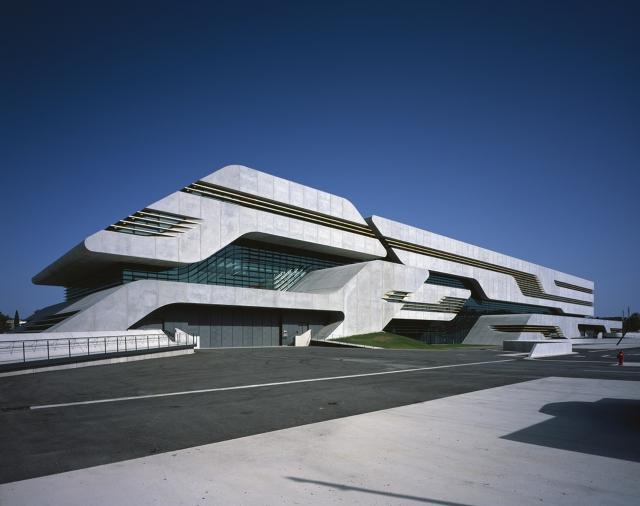 建筑设计:扎哈·哈迪德新作品pierres