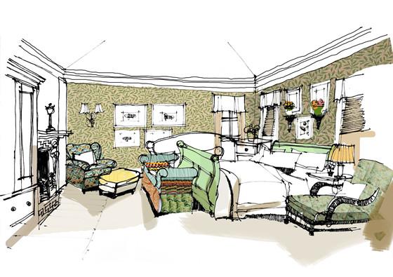极致装饰——别墅室内装饰与陈设艺术设计图片