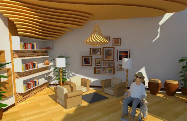 名称作品:发布--老年活动中心室内设计这样网上卷入包装设计图片