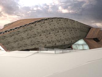 作品名称:中山码头南京大屠杀遇难同胞纪念馆设计