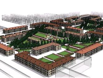 作品名称:家坊—呼得木大街建筑外立面改造及街坊景观设计