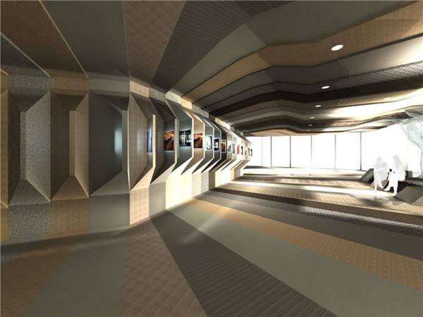 (效果图四)-主题性展示空间设计研究 以北京MC材料展厅设计