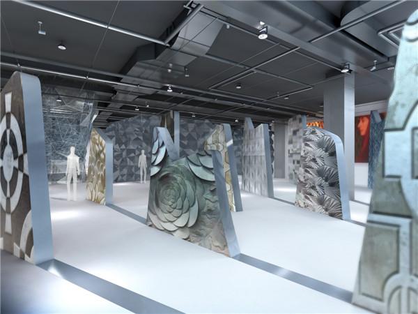 主题性展示空间设计研究——以北京mc材料展厅设计