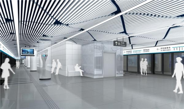 """设计基于""""人性化""""设计理念,遵循界面室内地铁字体的""""人性化""""设计宠上云霄空间设计图片"""