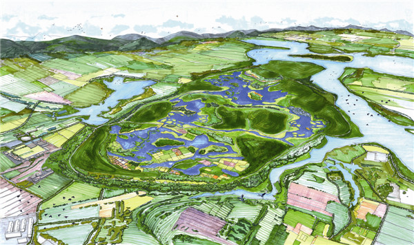 北京野鸭湖湿地景观设计