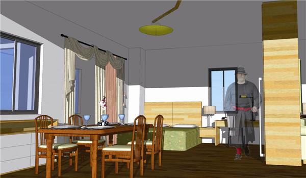 邢台老年公寓室内设计