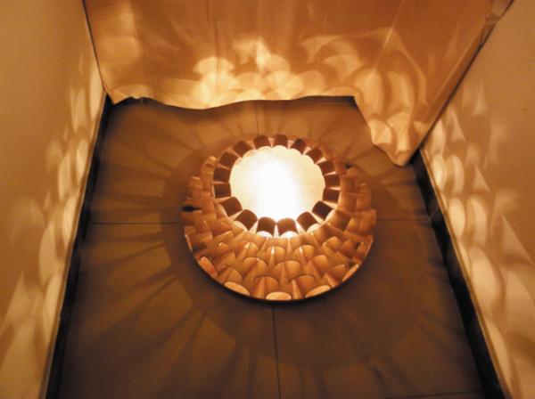 (学生作品图:水云山庄国际度假酒店—灯具装置设计)图片