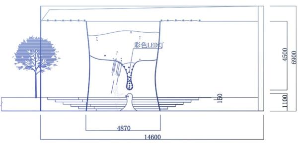 200平米浴池设计图