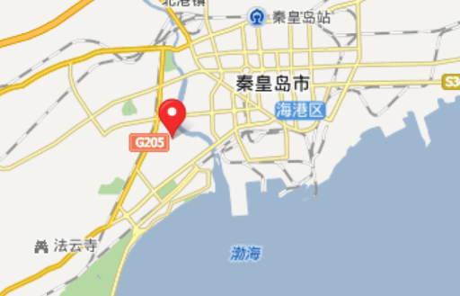 (秦皇岛市地图)