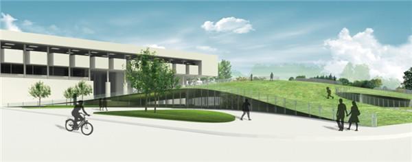 清华大学东南部学院派艺术区依托清华大学存在,区别于一般艺术区的