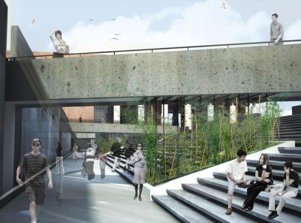 清华大学艺术博物馆室内与景观设计图片