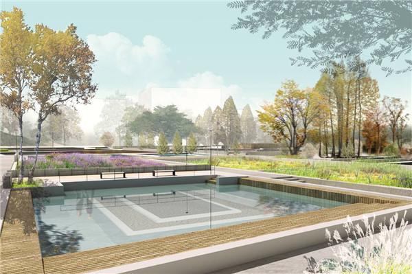 水池景观设计图