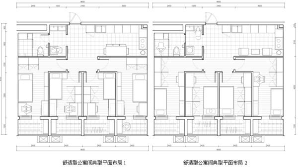 大学毕业生公租房室内模数系统配套设计研究