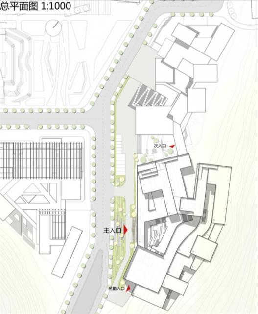中央美术学院建筑学院毕业设计展—展示建筑设计,室内