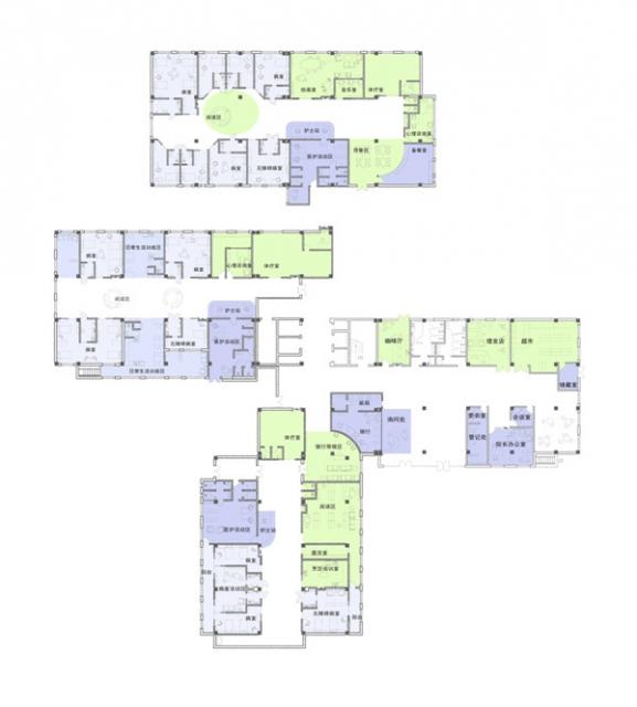 医疗康复空间室内外环境设计