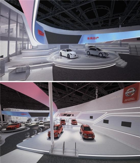 东风日产广州车展设计方案