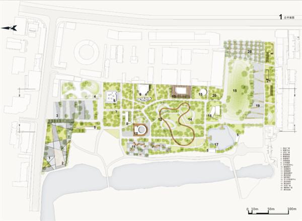 本次设计结合南昌城市意愿与老动物园周边环境,对场地进行景观及