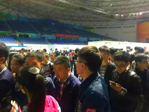 英才网联携手北京工业大学成功举办校园综合双选会