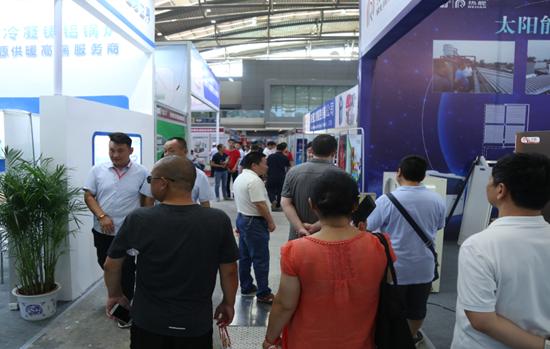 西部锅炉供热通风空调制冷设备展览会盛大开幕
